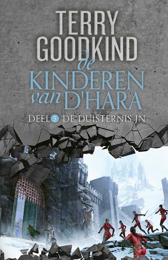 Boek cover De Kinderen van DHara 5 -   De duisternis in van Terry Goodkind (Hardcover)