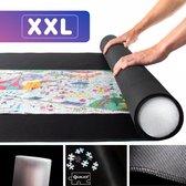 Luxe XXL Antislip Puzzelmat met Foamtube voor Legpuzzels van 500, 1000, 1500 tot +3000 Stukjes - 95 x 150cm