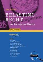 Omslag Belastingrecht voor Bachelors en Masters 2021-2022 Opgavenboek