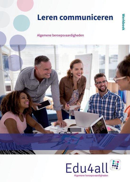 Edu4all ZW - Werken aan communicatie 1 zorg en welzijn werkboek - none | Readingchampions.org.uk