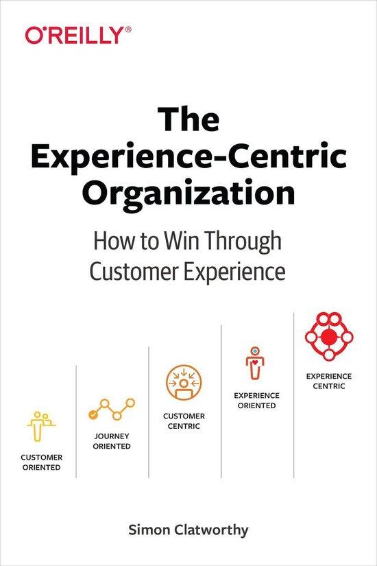 Boek cover The Experience-Centric Organization van Simon David Clatworthy (Onbekend)