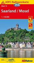 ADF Radtourenkarte 19 Saarland/Mosel