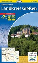 Radwandern im Landkreis Gießen 1 : 50.000