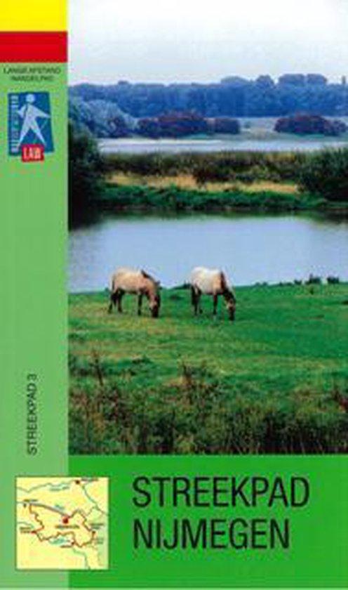 Boek cover LAW-gids 4 - Streekpad Nijmegen van Jacqueline de Jong (Paperback)