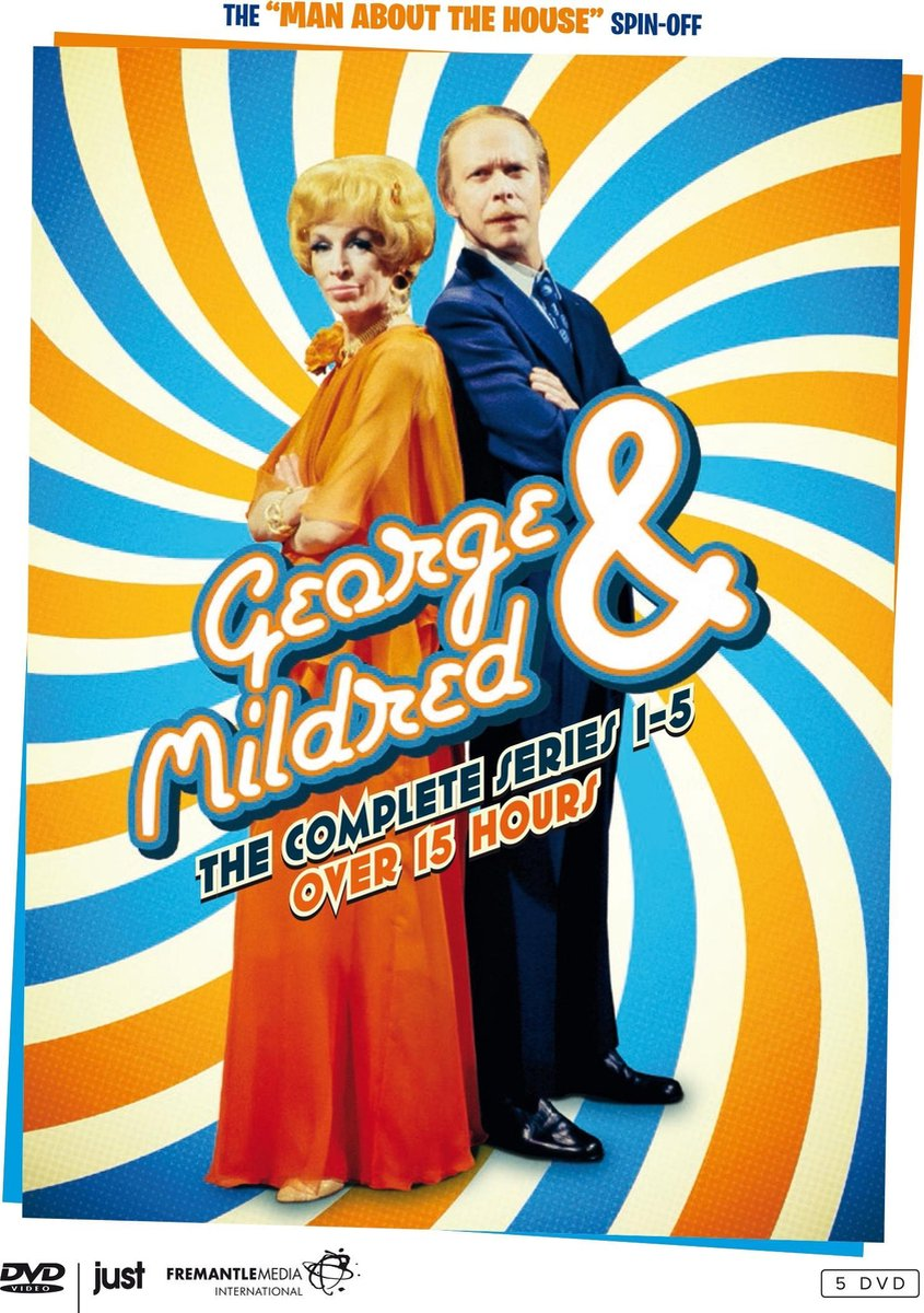 George & Mildred - The Complete Series 1 t/m 5 -