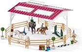 Schleich Ruiterschool met ruiter en paarden 42389 - Paard Speelfigurenset - Horse Club - 55 x 45 x 26 cm