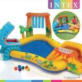 Intex Speelzwembad Dinosaurus - 191x249x109cm