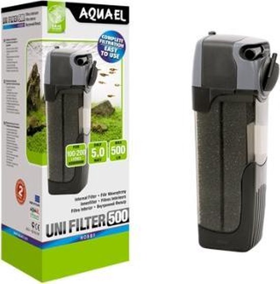 Aquael unifilter 500 - Aquarium Filter met UV