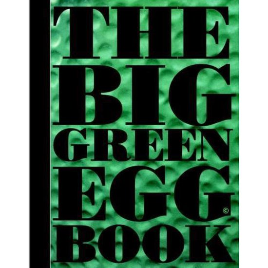 Boek cover The big green egg book van Dirk Koppens (Hardcover)
