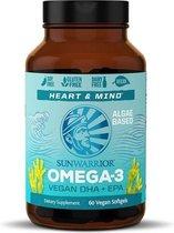 SUNWARRIOR OMEGA-3 VEGAN DHA+EPA 60 SOFTGELS
