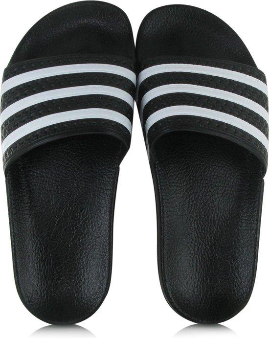 adidas Adilette Heren Slippers - Core Black/White/Core Black ...