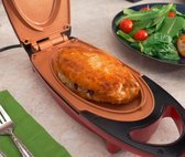 Afbeelding van Red Copper 5 Minute Express Chef - Contactgrill