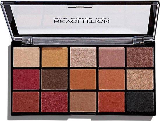 Makeup Revolution Re-loaded Palette - Iconic Vitality - Oogschaduw Palette - 15 Kleuren - Makeup Revolution