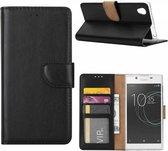 Sony Xperia XA1 Plus Portemonnee hoesje / book case Zwart