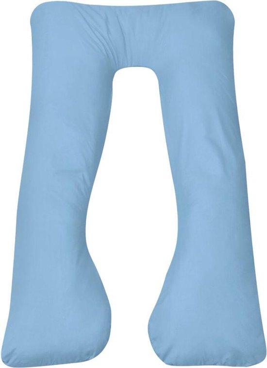 Product: vidaXL Zwangerschapskussen 90x145 cm lichtblauw, van het merk vidaXL