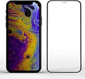 iPhone X/Xs Volledige Dekking Glazen Tempered Glass Zwart
