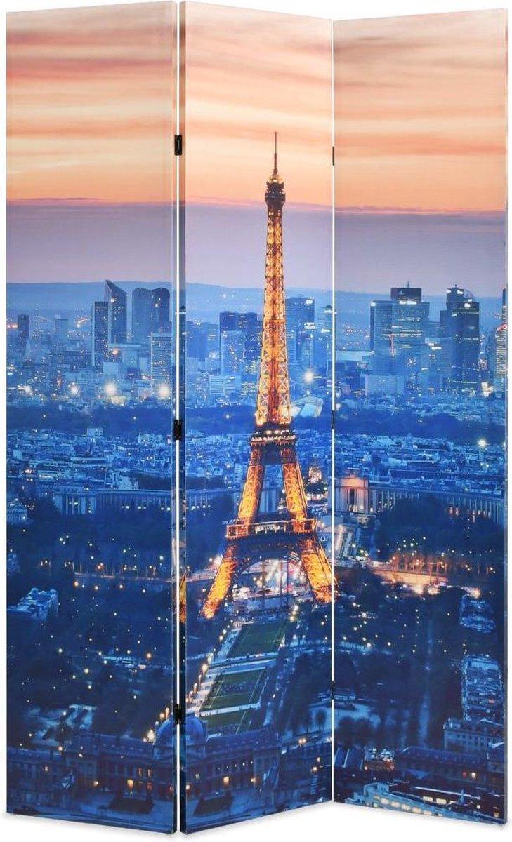 vidaXL Kamerverdeler inklapbaar Parijs bij nacht 120x170 cm - vidaXL