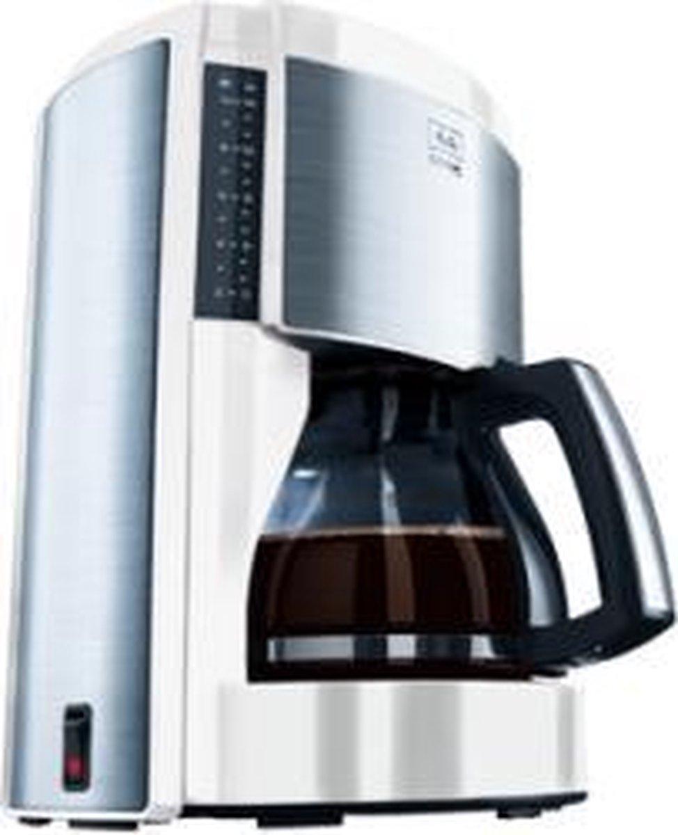  Melitta Koffiezetapparaat Look III de Luxe WitInox