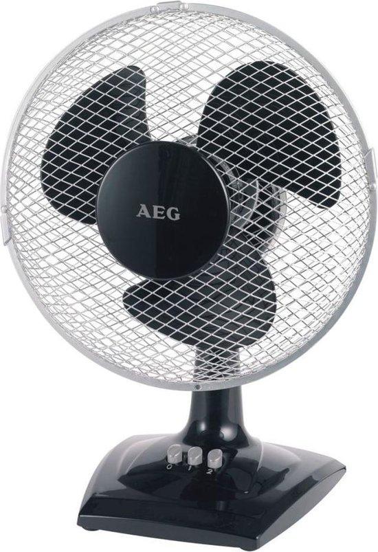 AEG VL 5528 - Tafel/muur ventilator - Zwart