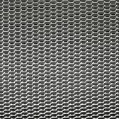 AutoStyle Racegaas aluminium - honingraat 12x6mm - 125x25cm