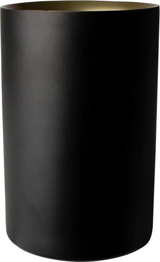 Gusta - Wijnkoeler RVS zwart goud