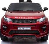 Elektrische Kinderauto Land Rover Discovery Rood 12V Met Afstandsbediening FULL OPTIONS
