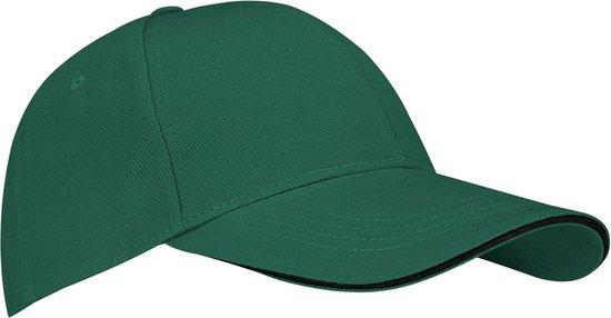 New Port Baseballcap Senior - Sandwich - Groen/Zwart