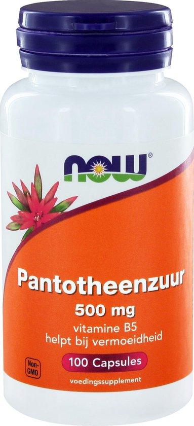 Pantothenic Ac/Pantotheenzuur