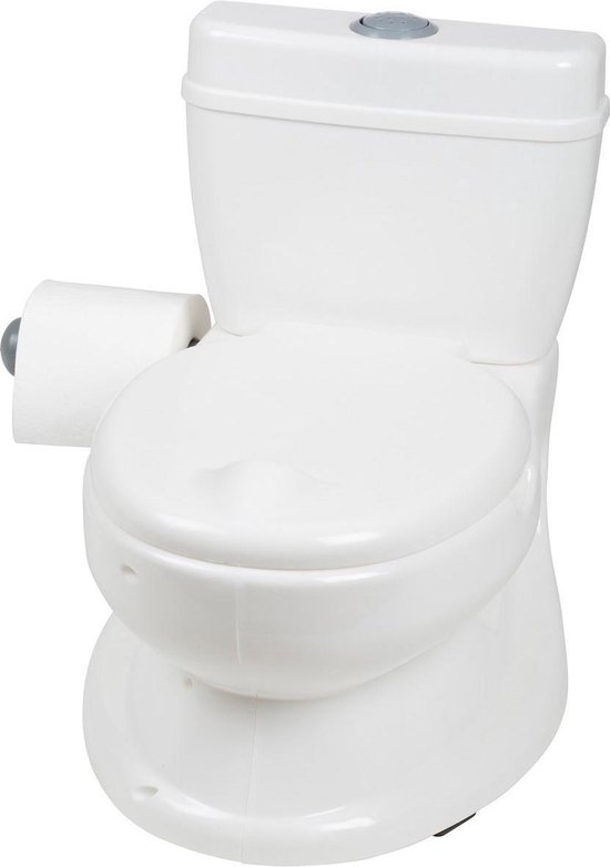 Product: BabyGO BabyPotty Plaspotje - Wit, van het merk BabyGO