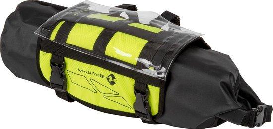 M-wave Stuurtas Rough Ride 10 Liter Zwart/geel