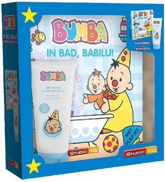 Boek cover Bumba - Giftbox: In Bad, Babilu! + Bodylotion van Gert Verhulst (Onbekend)