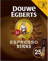 Douwe Egberts Espresso Sticks oploskoffie  - 6 x 25 sachets