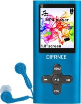 DIFRNCE MP1854 MP4 PLAYER 4GB BLUE