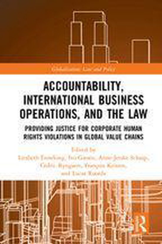 Boek cover Accountability, International Business Operations and the Law van  (Onbekend)