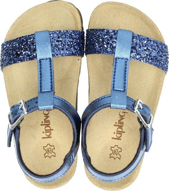 Kipling Rio meisjes sandaal Blauw Maat 34