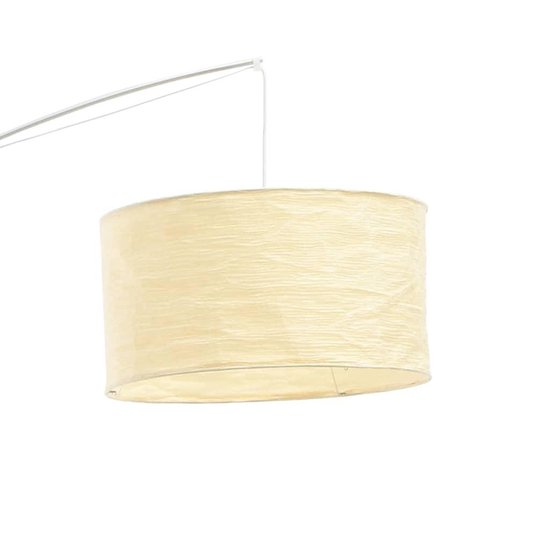 VidaXL Booglamp - Verstelbaar - 192 cm - Crème
