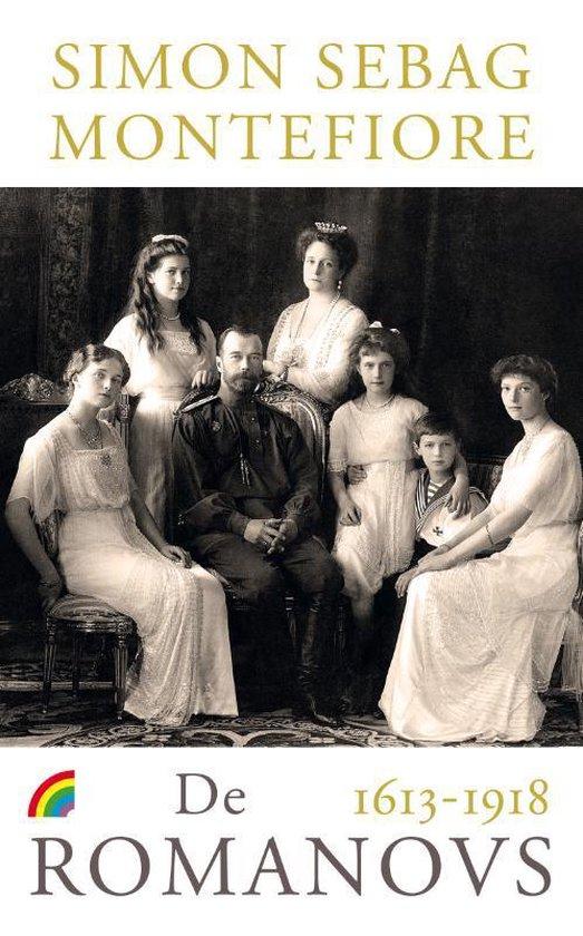 Boek cover De Romanovs van Simon Sebag Montefiore