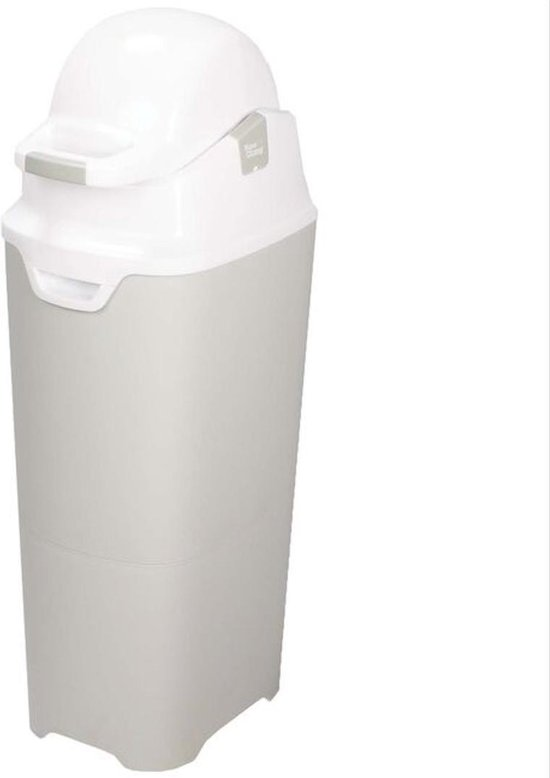 DiaperChamp ONE MAXI - Soft Silver - Grote Luieremmer