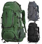 Beefree 70 Liter Backpack | Inclusief regenhoes | Frontlader | Extra stevig | Updated 2019 model | G