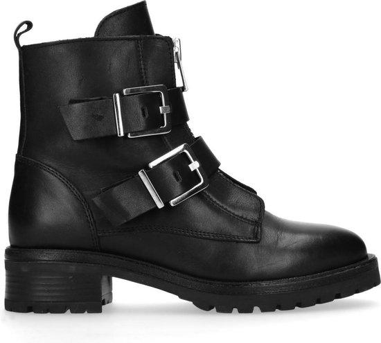Sacha - Dames - Biker boots met gespen - Maat 37