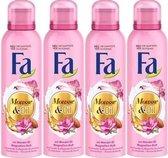 FA Douchefoam - Mousse & Oil - Amandelolie & Magnolia - Voordeelverpakking 4 x 200 ML