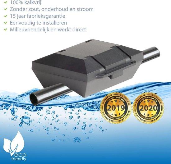 ✅ AlpinPro® Antikalksysteem Black Edition - voor alle Stalen waterleidingen (magneet waterleiding) ☆ hét waterontharder alternatief | Antikalk | Kalkaanslag | Water 4000 | Douche filter 1000 | Magnetisch | > 20.000 Gauss / 2.0 Tesla