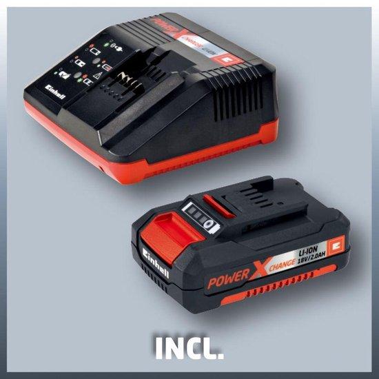 Einhell Accu Bladblazer 18V Kit  - Power X Change - Inclusief lader en accu
