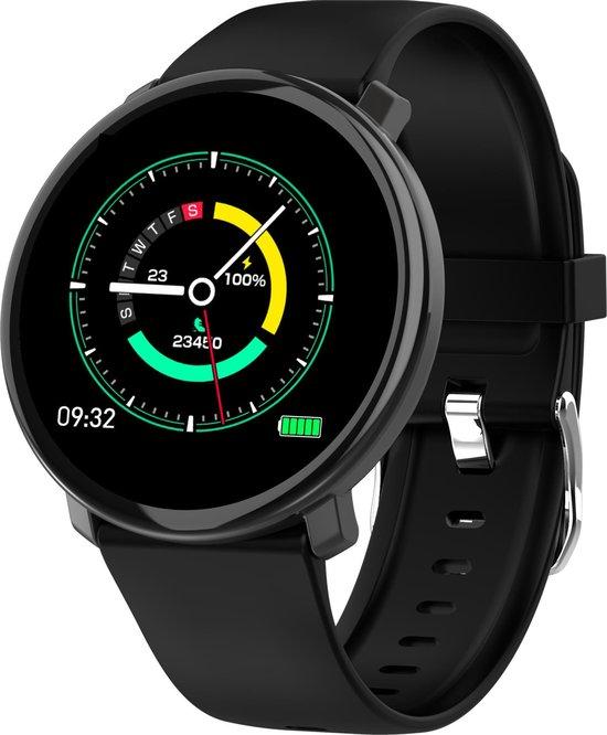 PowerLocus Smartwatch - Waterbestendig - Zwart