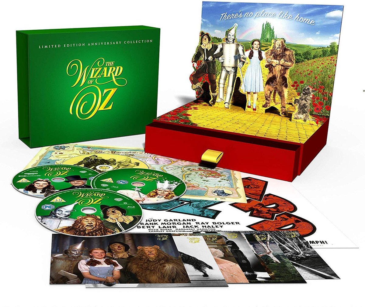 The Wizard of Oz: Limited Edition 80th Anniversary Collection (4K + BLU RAY + CD)-