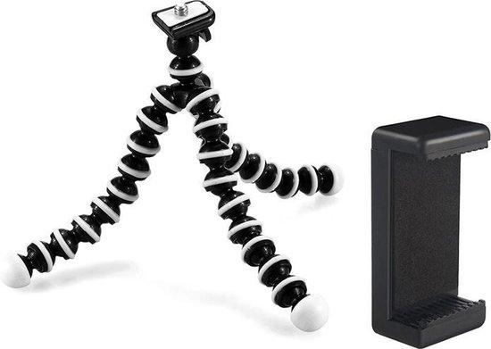 Flexibel mini-statief met extra flexibele poten