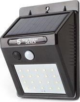 20 LEDs Buitenlamp draadloze waterdichte lamp bewegingssensor Solar licht voor tuin Tuinverlichting - Wandlamp | Solar buitenverlichting wit licht ewegingssensor - Zonne-energie – Tuinverlichting voor hek en wand