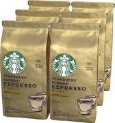 Starbucks® Blonde® Espresso Roast Blonde® Roast Koffiebonen - 6 x 200 gram