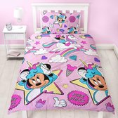 Minnie Mouse Dekbedovertrek 135x200 Polyester
