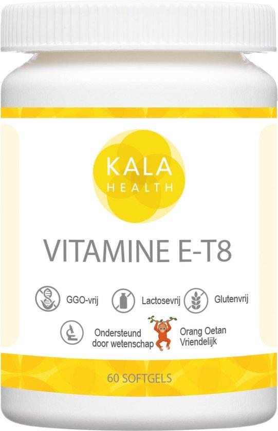 Kala Health Bioenhanced Vitamine E T8 60 capsules